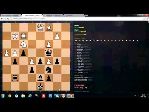 Blitz Chess Game 10 minutes, nice chess game from AlimAllah.net Chess Club