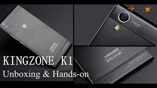 "KINGZONE K1 Unboxing & Hands-On - 5.5"" 1080P Display"