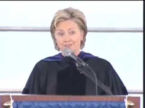 Hillary Rodham Clinton, Barnard 2009 Commencement Address