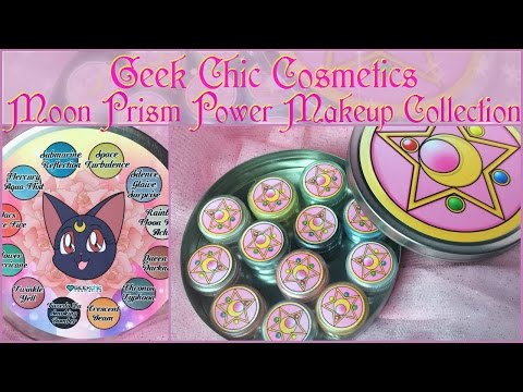 Geek Chic Cosmetics Moon Prism Power Makeup Collection | Review + Swatches
