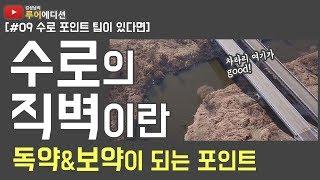 [김성남의 루어에디션#9] 수로의 직벽 포인트의 비밀ㅣ물길을 읽으면 배스가 보인다