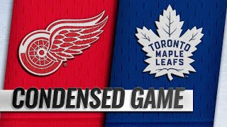 12/06/18 Condensed Game: Red Wings @ Maple Leafs