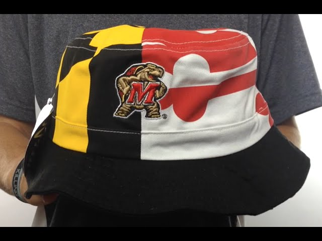 Maryland 'flag String Bucket'