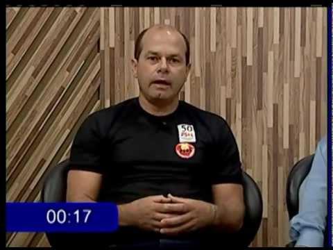 Candidatos a prefeito participam de debate na Tv Betim