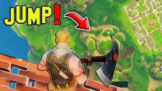 BIGGEST JUMP in FORTNITE! Fortnite WTF Moments & Fails #85 (Battle Royale Highlights)