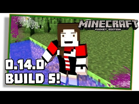 NOVIDADES DO MINECRAFT PE 0.14.0 BUILD 5 (beta FINAL)! - (Pocket Edition / MCPE)