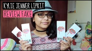 Kylie Jenner fake lipkit review (Reviews by Tan #2)