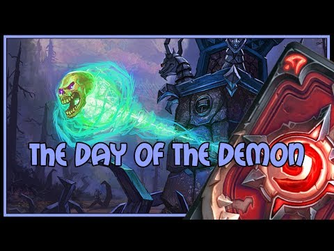 Hearthstone: The day of the demon (demon handlock)
