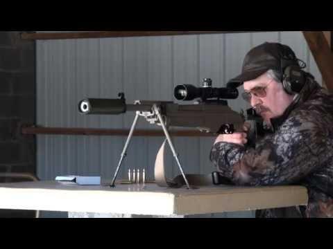 La carabine Sako d'intervention TRG 22 cal 308 Winchester.