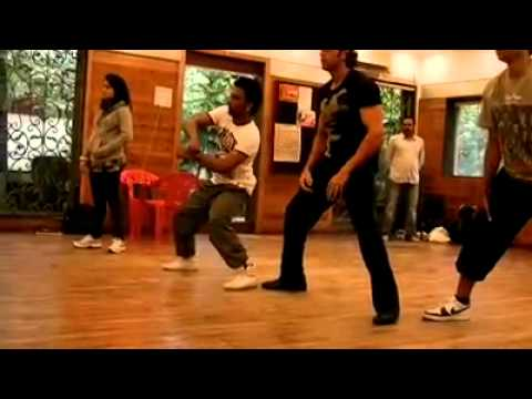 Hrithik Roshan dance practice with dharmesh sir..