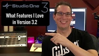 Presonus Studio One 3 - Things I like in Version 3.2