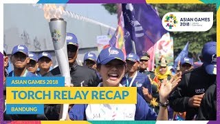 Asian Games 2018 - Torch Relay Recap (Bandung)