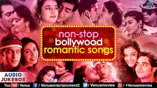 Non Stop Bollywood Romantic Songs | Best Evergreen Hindi Songs | JUKEBOX | 90's Bollywood Love Songs