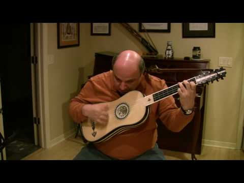 Two chaconnes by Francesco Corbetta in C Major for baroque guitar