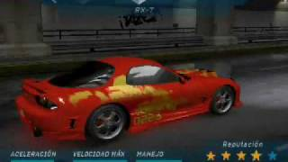 Download Autos Rapido Y Furioso En Need For Speed Underground 1 Cars