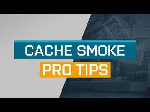 CS:GO - ProTips: Cache - CT Smoke from Sunroom