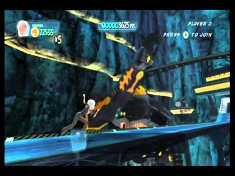Monsters vs. Aliens Movie Game Walkthrough Part 4 (Wii)