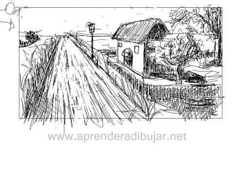 Como dibujar paisajes - Paint Landscapes