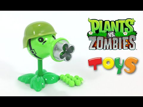 Plants vs Zombies Toy Cannon - Gatling Pea