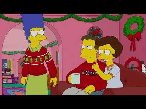 The Simpsons – White Christmas Blues – Animation Cartoons Movie – Simpson clip8 MP3