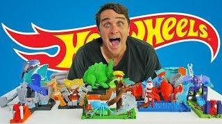 Hot Wheels Mega Monster City Playsets ! || Toy Review || Konas2002