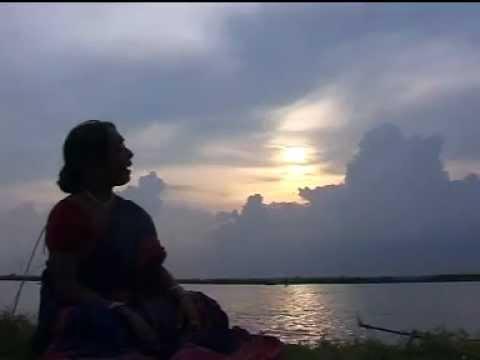 Swapna Chakraborty Lahiri Ore Kajol Ganger Naiya(Bhatiali)
