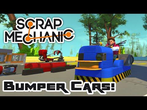 Bumper Car Brawl, Part 1 - Let's Play Scrap Mechanic - Part 126
