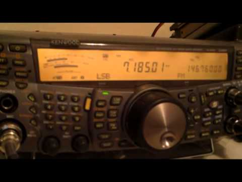 HAM RADIO FIGHT ( 40 meters )