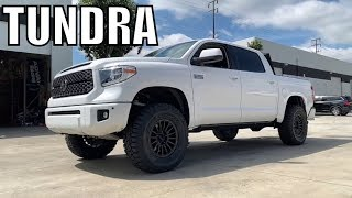 "2018 TOYOTA TUNDRA, Lifted Fox 2.5 Remote Reservoir DSC & 6"" Pro Comp Lift"