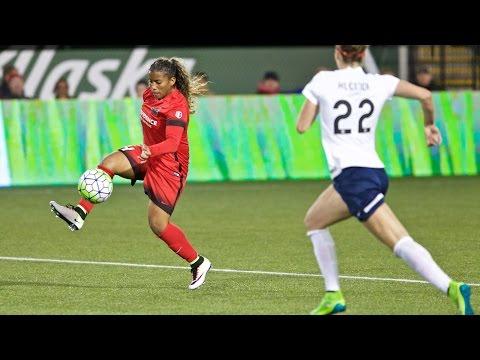 Portland Thorns FC 4, Washington Spirit 1 | NWSL Match Highlights
