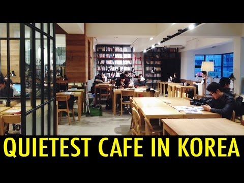 Quietest Cafe In Korea (kwow #155) video