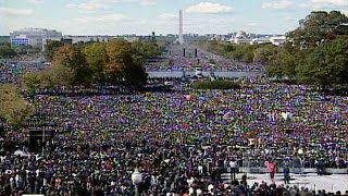 The Million Man March - October 16th, 1995