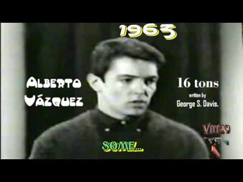 Sixteen Tons {Karaoke} - Alberto Vzquez Video