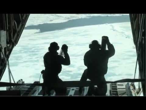 U.S. Coast Guard Arctic Domain Awareness Flight and Probe Drop!