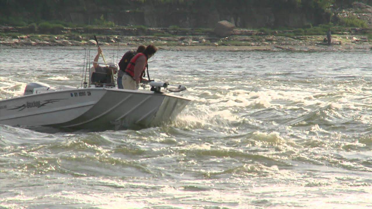 Hybrid fishing below mcalpine dam youtube for Ohio one day fishing license