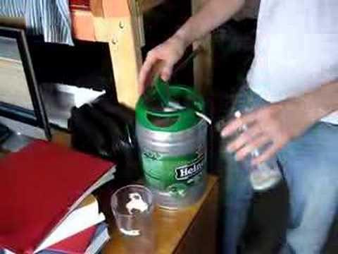 Heineken Keg Foam Heineken 5l Mini Keg