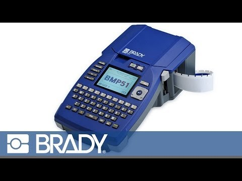 New Brady BMP51 Label Maker