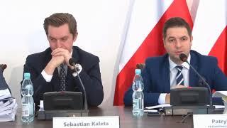 Przesłuchanie Mirosława Kochalskiego przez komisję weryfikacyjną ds. reprywatyzacji 31.10.2017