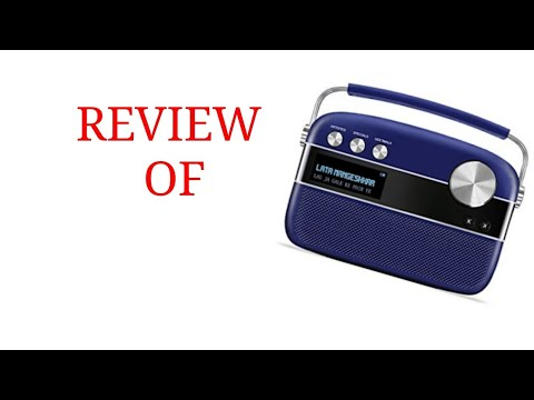 Review Of Saregama Carvaan royal blue