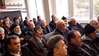 MHP TOSYA BELEDİYE BAŞKANI VOLKAN KAVAKLIGİL BASIN AÇIKLAMASI