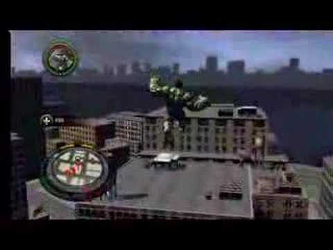New ! Exclusive Xbox 360 The Incredible Hulk Chase Gameplay