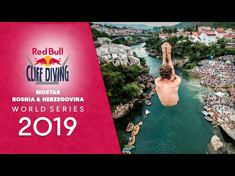Red Bull Cliff Diving World Series LIVE in Mostar, Bosnia and Herzegovina