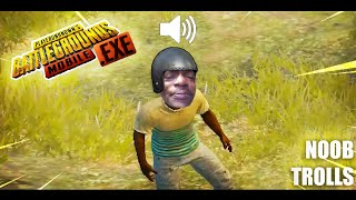 PUBG Mobile.EXE | Trolling Noobs 😂