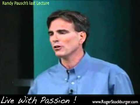 rhetorical analysis of randy pauschs last Analyses, professional resumes, and reflective essays 4  analyze popular  culture artifacts using a rhetorical perspective 6  video: randy pausch's last.