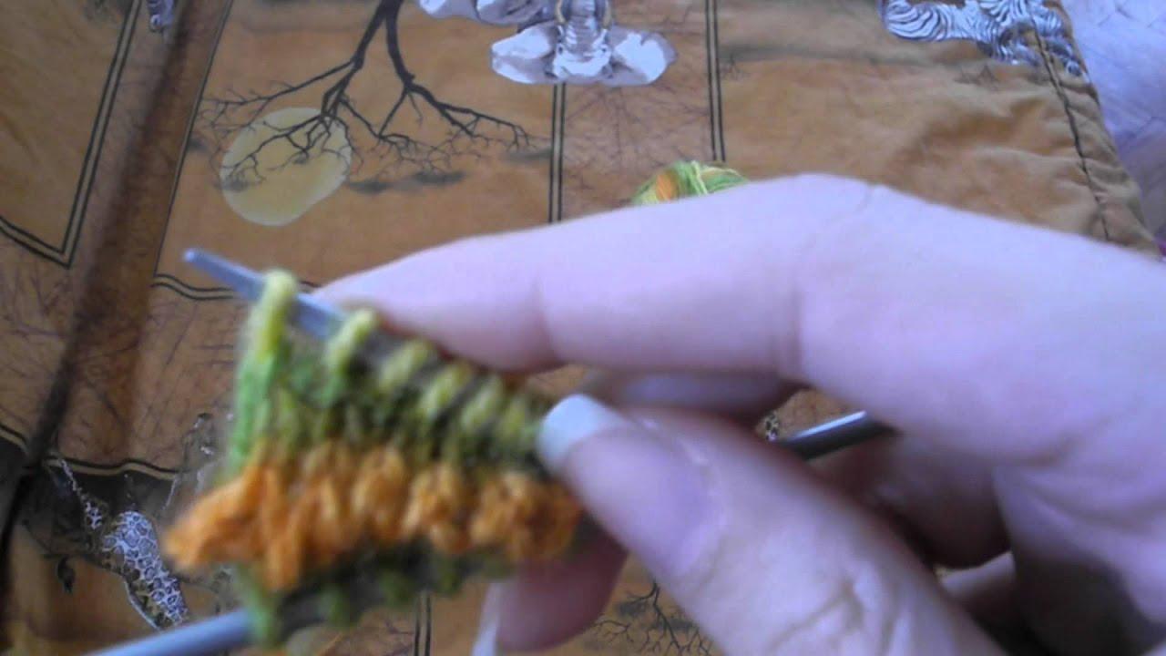 Мастер класс по вязанию носков » Петля - вязание 76