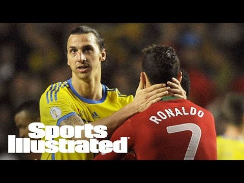 Zlatan Ibrahimovic Calls Cristiano Ronaldo Merely 'A Good Player'  | SI NOW | Sports Illustrated