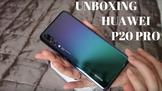 I GOT THE HUAWEI P20 PRO! UNBOXING