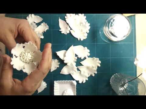 تشكيل زهرة كبيرة بعجينة السيراميك Music Videos