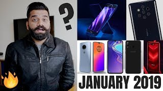 Top Upcoming Smartphones - January 2019 🔥🔥🔥