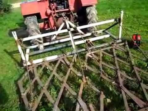 Борона на трактор своими руками 180